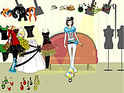Play Funky clothing dressup Game