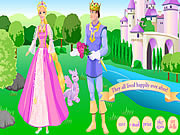 Barbie as Rapunzel game