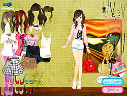 Summer Looks Dressup game