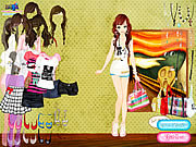 Play Summer looks dressup Game