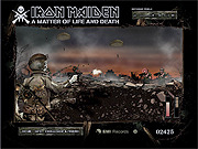 Play Iron maiden a matter of life and death Game