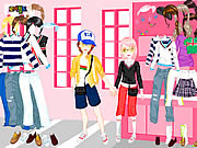 Jugar Shopping in love dress up Juego