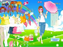 Spring Umbrella game