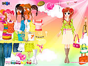 Colorful dressup Spiele