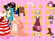 Play Jeans or gown dressup Game