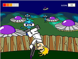 Gioca gratuitamente a Alien Shooter