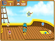 Play Doras pirate boat treasure hunt Game