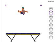 Trampoline Spiele