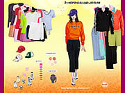 Play Adidas apparel dressup Game