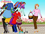 Play Dressup girl summer 2008 collections Game