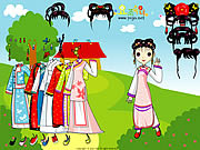 Play Chinese princess dressup Game