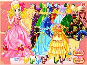 Play Full colors of princess Game