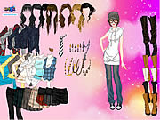 Play Fashion boots dress up Game