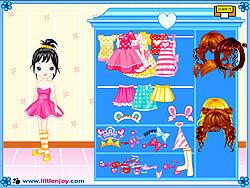 Little Doll Girl Dressup game