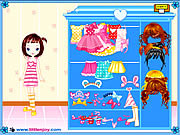 Play Little doll girl dressup Game