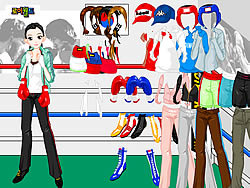 Boxing Dress Up game