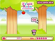 Play Fruit rain Game
