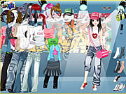 Denim Heaven Dress Up game