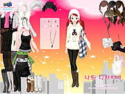 Jucați jocuri gratuite Skyline Dress Up