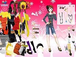 Shopping Girl Dressup 2 game
