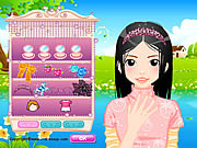 Play New face dressup Game