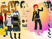 Play Dancer in sky dress up Game