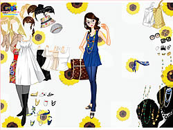 Top and Jeans Dress Up game