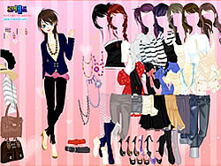 Permainan Pink Chique Dress Up