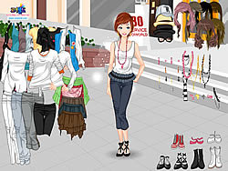Gioca gratuitamente a Casual Fashion Dressup