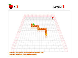 3D Worm game