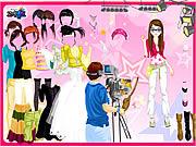 In fashion magazine world dress up Spiele