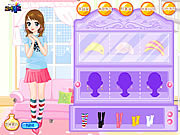 Girls rush dressup