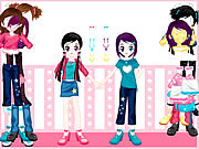 Play Dressup twins Game