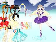 Play Ballerina princess maker Game