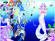Play Sea girl dressup Game