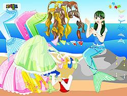 Mermaid 2 Dress Up game