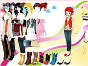 Play New collection dress up Game