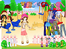 Gioca gratuitamente a Fashion Doll Dressup