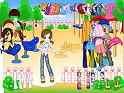 Fashion doll dressup