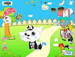 My Cute Pet Dressup game