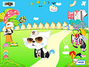 My Cute Pet Dressup game