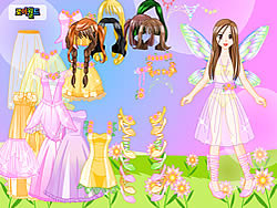 Pink Fairy Dressup game