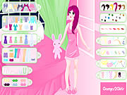 Play Sleep time dressup Game