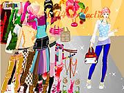 Jogar jogo grátis About Color Tops Dress Up