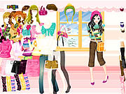 Play Colorful winter dress up Game