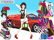 Car girl fashion Spiele