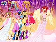 Play Fairy princess dressup Game