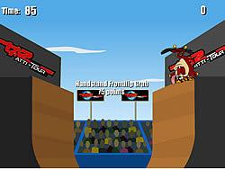 Extreme Taz Skateboard Halfpipe game