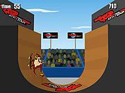 Extreme Taz Skateboard Halfpipe لعبة