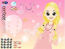 Maglaro ng libreng laro Girl Butterfly Make Up
